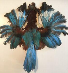 Oiseau plumes bleues  Modiste n°15