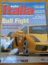 Auto Italia 84 Ferrari 250LM, Gallardo, Alfa Romeo 75