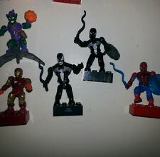 Marvel Heroes Mega blocks collectable figures multiple offer types