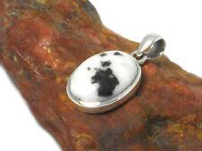 Zebra  JASPER  Sterling  Silver   925  Gemstone  PENDANT  - Gift Boxed!!