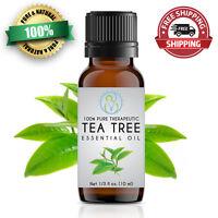 Tea Tree Essential Oil 10 ml 100% Pure & Natural Therapeutic Grade