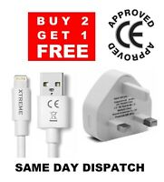 100% Genuine CE Charger Plug & USB Sync Cable for Apple iPhone 11 X 8 7 6 Plus