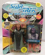 Star Trek Warp The Next Generation Klingon Worf  Space Action Figure Classic