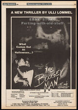 THE BOOGEY MAN__Original 1980 Trade print AD / poster__ULLI LOMMEL__SUZANNA LOVE