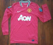 Nike Manchester United 2010/2011 Mens Long Sleeve Jersey 19 Champions SHIPSFAST