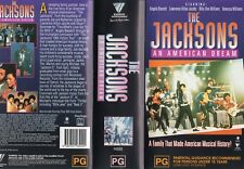THE JACKSONS -AN AMERICAN DREAM -2VxHS-PAL-N&S-Never played!-Original Oz release