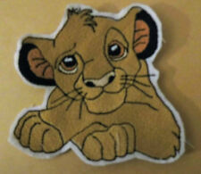 Disney Lion King Simba sew on motif for Knitting/Sewing/Crafts and card making