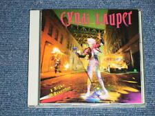 CYNDI LAUPER Japan 1989 25 8P-5330 NM CD A NIGHT TO REMEMBER