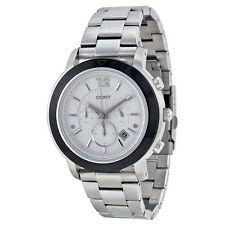DKNY Chronograph Silver Dial Stainless Steel Mens Watch NY2165