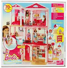Barbie Doll House DreamHouse Playset 70+ Accessory Pieces