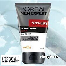 1x100 mL. L'oreal Men Expert Face Wash VITA LIFT Revitalising Foam Cleanser Skin