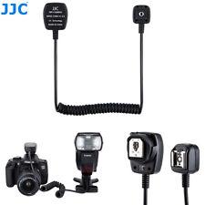 JJC 1.4m TTL Off-Camera Flash Sync Cord for Canon 600EX-RT 580EX 430EX II 270EX