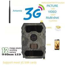 S880G Caméra de chasse infrarouge 1080P HD 3G MMS 12MP Scouting Sans Fil Etanche