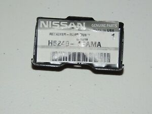 2016 - 2017 NISSAN ROGUE JUKE REAR BUMPER RETAINER H5240-4BAMA NEW OEM