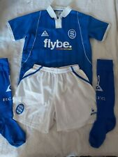 Rare Birmingham City Football Le Coq Sportif 2003 / 04 Full Kit Medium Youths