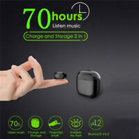 Mini Wireless Blutooth Earphone With 2 In 1 Charging Storage Box In Ear Headset&