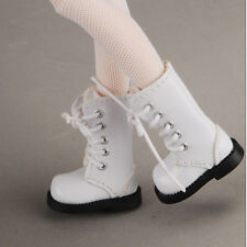 Dollmore 12inch doll shoes Anfan Fri Boots (White) banji/blythe size shoe
