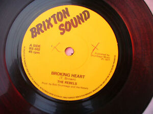REBELS BROKING HEART / PART 2 brixton sound 002 ....45 rpm
