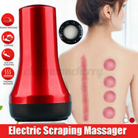 Electric Scraping Massager Cupping Guasha Ultrasonic Fat Removal Body