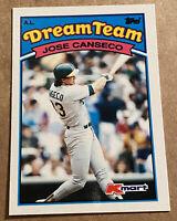 Jose Conseco 1989 Topps Kmart Dream Team Oakland Athletics #18