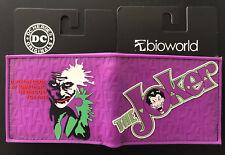 The Joker Wallet Purse Mens Kids 3D DC Comics Cartoon Movie PS4 Xbox PC Wii *OZ*