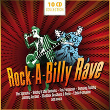 Various Artists : Rock-a-billy Rave CD (2012) ***NEW***