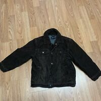 Childrens Place Boys Corduroy Jacket Sz S Brown Snap Front Casual FK35