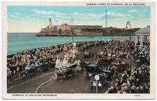 Postcard Carnival at Malecon Promenade in Habana, Cuba~107590