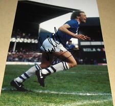 ANDY GRAY PERSONALLY SIGNED EVERTON 12X8 AUTOGRAPH PHOTO SOCCER