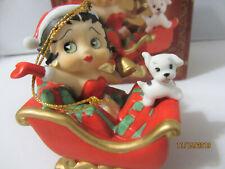 Betty Boop Ornament -The San Francisco Music Box 'Christmas Medley' - 2001