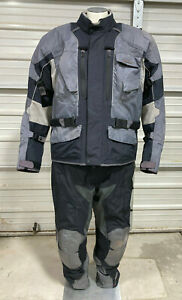 First Gear Riding Suit - Mens XL (40 Tall) - Jacket & Pants - Motorcycle Gear