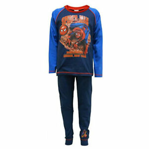 NEW BOYS OFFICIAL MARVEL SPIDERMAN HOME COMING PYJAMAS AGES 4-5 up to 9-10 YEARS