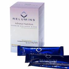 Relumins Premium Collagen Drink Powder - Pineapple Flavor w/ Glutathione & CoQ10