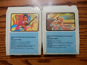 Rolling Stones More Hot Rocks Big Hits and Fazed Cookies Pt 1 & Pt 2 8 Track