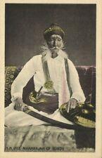 india, Maharaja of Bundi, Maharao Raja Sir Ram Singh Bahadur (1920s)