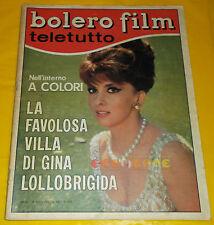BOLERO FILM 1967 n. 1051 Gina Lollobrigida, Marcello Mastroianni, Celentano