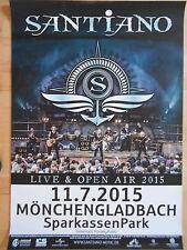 SANTIANO 2015 M'GLADBACH   NEU -  orig.Concert-Konzert-Tour-Poster-Plakat