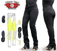 AUSTRALIAN Bikers Gear 2020 Ladies Motorcycle Jeans lined with DuPont™ Kevlar®
