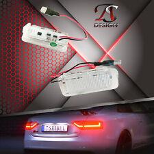 LED Kennzeichenbeleuchtung für Jaguar XF Typ X250 und XJ Typ X351 E-Prüfzeichen