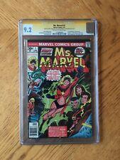 Ms. Marvel #1 Signed Conway, John Romita & Joe Sinnott 1st Ms Marvel 9.2 NM- CGC