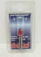 """Freud  3/8"""" Round Nose Router Bit 18-106"""