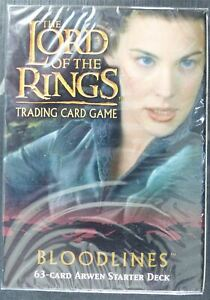 Lord of the Rings: Bloodlines Arwen Starter Deck sealed - Cards #B2