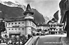 POSTCARD    SWITZERLAND   LAUTERBRUNNEN   Hotel  Steinbeck