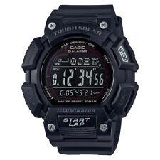 Casio STLS110H-1B2, Solar Watch, World Time, Chronograph, 100 Meter WR, 5 Alarms