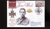AUSTRALIAN ANZAC VICTORIA CROSS 100th ANNIV COV, Prvt JAMES WOODS