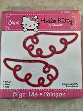 Sizzix Hello Kitty Bigz Die Wings Retired, RARE! 655793 Angel Heavenly NEW