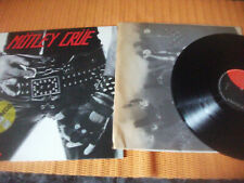 MOTLEY CRUE, TOO FAST FROM LOVE, LP SPANISH EDIT