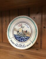 Poole Pottery Ship Plates Collection Limited Edition 'The Ship of Harry Paye'