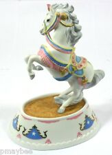 Lenox Collections Porcelain Circus Pony Music Box *NEW in Package