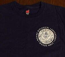 Woods Hole MA Marine Biological Laboratory Reproduction T-Shirt S SMALL Cape Cod